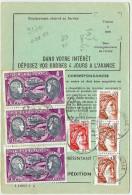 LGM - ORDRE DE REEXPEDITION AU TARIF DU 1/8/1980 (31f70) - Posttarieven