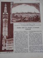 - Article - Régionnalisme - Lille - Vieilles Villes De Flandres Et D' Artois - Monuments Historiques - 8 Pages - 1937 - Documents Historiques