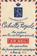 Carte Parfumée Corbeille Royale Par Avion - Cartes Parfumées