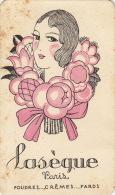 Carte Parfumée Laseque Paris - Perfume Cards