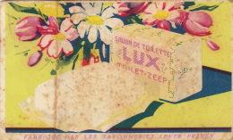 Carte Parfumée Savon Lux - Antiquariat (bis 1960)