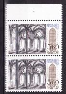 N° 2255 Série Touristique: Abbaye De Noirlac Bruère Allichamps ( Cher ) Une Paire De 2 Timbres Neuf - France