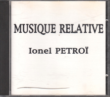 Cd   Musique Relative Ionel Petroi - Jazz