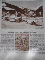- Article - Régionnalisme - Arêches - Col De La Bathie - Col De La Louze - Le Grand Mont - 2 Pages - 1937 - Documentos Históricos