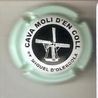 PLACA DE CAVA MOLI D´EN COLL CON UN MOLINO (MOULIN-MILL) (CAPSULE) Viader:3229 - Spumanti