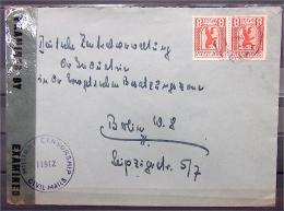 Militärzensur Groß-Berlin Magistratspost Brandenburg OPD Potsdam - Examined Censorship - Soviet Zone