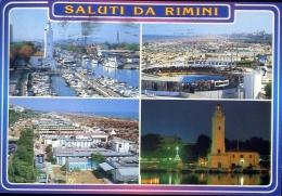 Saluti Da Rimini - 402 - Formato Grande Viaggiata - Rimini