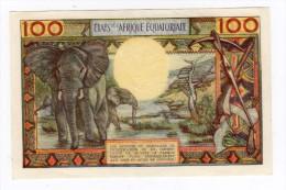 Rare Billet De 100 Francs BANQUE CENTRALE ETATS DE L´AFRIQUE EQUATORIALE Nd - Billets