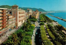 SALERNO  VIA  ROMA  LUNGOMARE  TRIESTE         (VIAGGIATA) - Salerno