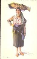 Folklore Klederdracht Costumes Portugueses - Lisboa - Peixeira - Illustr. Alberto Souza 1937 - Costumes