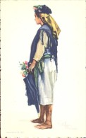 Folklore Klederdracht Costumes Portugueses - Mira - Camponesa   - Illustr. Alberto Souza 1937 - Costumes