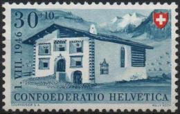 SUISSE Poste 431 ** MNH Maison De L´Engadine (CV 8 €) - Switzerland