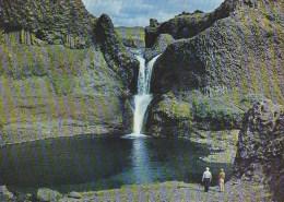 Iceland - Gjarfoss In The Valley Of Thjorsardalur - Iceland