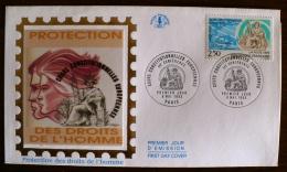 COURS CONSTITUTIONNELLES EUROPEENNES, DROIT DE L HOMME 8 Mai 1993. Yvert  2808 FDC - FDC