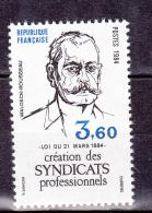 N° 2305 Centenaire De La Création Des Syndicats Professionnels Par La Loi Sdu 21 Mars 1884:  Timbres Neuf - Ongebruikt