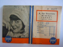 Pochette Photo 1939 Forest Pub Gevaert Femme Bonnet Dentelle Vrouw Muts Kant - Matériel & Accessoires