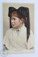 Old Postcard Folklore Topic - Raum Für Mitteilungen - Markgräflerin - Folklore Costume - Vestuarios