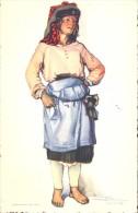 Folklore Klederdracht Costumes Portugueses - Leiria  Camponesa - Illustr. Alberto Souza 1937 - Costumes