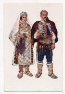 Costume National Croate : Dalmatie (Knin-Vrlika) - Illustrateur: Vladimir Kirin - Croatie - Costumes