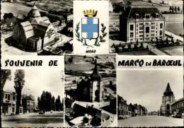 59 - MARCQ-EN-BAROEUL - Multi Vues - Blason - Marcq En Baroeul