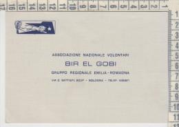 Bologna  Associazione Nazionale Volontari Bir El Gobi Gruppo Regionale Emilia Romagna  Buona Pasqua Auguri 1965 - Organizzazioni