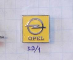 OPEL Logo (old Pin Former Yugoslavia) - Opel