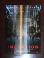 INCEPTION Lenticular 3D Movie Film Carte Postale - Unclassified