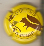 PLACA DE CAVA ROSELL MIR DE UN ZORRO-FOX  (CAPSULE) Viader:11035 - Spumanti
