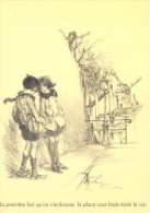 CPM Collection POULBOT - Menus Le Cornet 309° Diner 1934 - La Première Fois Qu´on S´embrasse - 2 Scans - Poulbot, F.