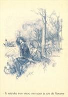 CPM Collection POULBOT - Menus Le Cornet 254° Diner 1927 - Tu Retardes Mon Vieux, Moi Aussi Je Suis De Paname - 2 Scans - Poulbot, F.