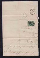 Brazil Brasil 1878 Cover Fragment PARAHYBA DO SUL To Rio De Janeiro - Briefe U. Dokumente