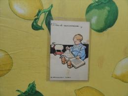 ATTILIO Il Libro Di Mammina Pro Biblioteche Rurali Zia Mariù Viaggiata 1914 - Illustratori & Fotografie