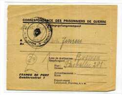 CORRESPONDANCE PRISONNIERS DE GUERRE / KRIEGSGEFANGENENPOST / DE RENNES DEPOT 1102 POUR BREMEN / WWII / GUERRE 39-45 / - Guerra Del 1939-45