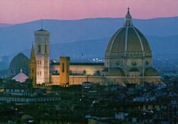 COLLEZIONE  FIRENZE     CATTEDRALE  NOTTURNO         (VIAGGIATA) - Firenze