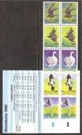 Danmark Carnet 1986 Yv C 876 ( 876/80 X 2) ** Faune-Oiseaux Danois Dont Cygnes Etc... - Collections, Lots & Series