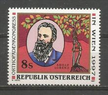 AUTRICHE. Chirurgien Orthopédique Célèbre Adolf Lorenz.  Un T-p Neuf ** - Medicine