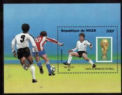 NIGER     BF 50  * *  Cup 1986   Football  Soccer Fussball - Coppa Del Mondo