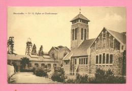 C.P.  Marcinelle  :  Eglise  Et  Charbonnage - Charleroi