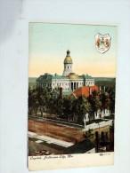 Carte Postale Ancienne : JEFFERSON CITY : Capitol - Etats-Unis