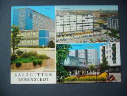 Germany: SALZGITTER - LEBENSTEDT - Rathaus. Einkaufszentrum. Blumemtriften - Posted 1969 - Salzgitter