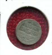 INDIA STATE MEWAR 1 YEAR TYPE SILVER 1/16 RUPEE 1928 VG NR.99 - India