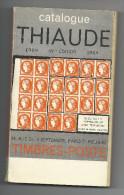 Catalogue Thiaude1968 53ème édition - France