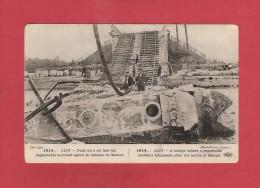 CPA..dépt 77.. LISY..Pont Où A Eu Lieu Un Regrettable Accident Après La Bataille De Meaux  : Voir Les 2  Scans - Autres Communes