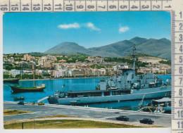 Piroscafi Navi Da Guerra  Ferryboat  Ships  Traghetti  Nave Da Crociera Gaeta Latina  Panorama Vg - Dampfer