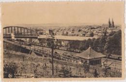CPA,LUXEMBOURG,ESCH SUR ALZETTE,la Gare,chemin De Fer,mine De Fer,transport Par Wagon,ex Ville Sidérurgique - Esch-Alzette