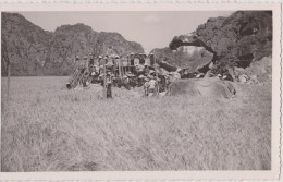Asie,nord Viet-nam ,golfe De Tonkin,baie D´along,ha Long Terrestre En 1951 En Travaux,unique,asia,carte Photo - Vietnam