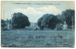 - LE MESNIL-ST-DENIS - Le Château, La Prairie, Peu Courante, Coins Ok, Non écrite, TBE, Scans. - Le Mesnil Saint Denis