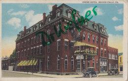 Beaver Falls PA, Grand Hotel, um 1925