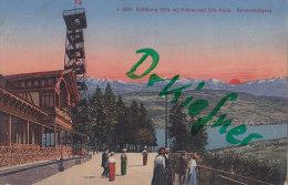 Uetliberg, Restaurant Uto-Kulm, Sonnenaufgang, Um 1912 - Restaurants