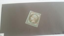 LOT 246675 TIMBRE DE FRANCE OBLITERE N�11 VALEUR 150 EUROS CACHET ROUGE